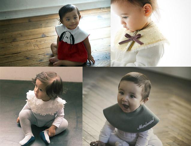 マールマールのスタイを着た赤ちゃん達