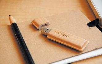 名入れ対応木製USBメモリー