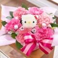 かわいい物好きな女性に大人気!ハローキティのキャラ花束